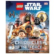 LEGO Star Wars: Chronicles of the Force Hardcover Book