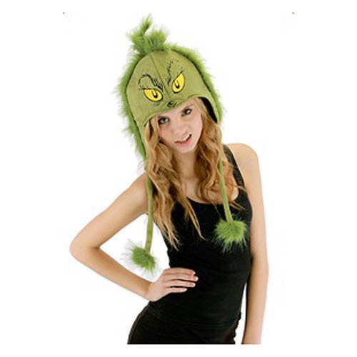 Dr. Seuss The Grinch Deluxe Laplander Hat
