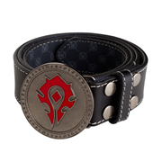 World of Warcraft Horde Leather Belt