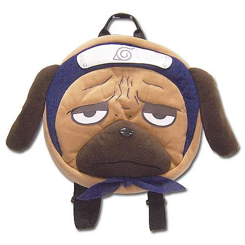 Naruto Pakkun Plush Backpack