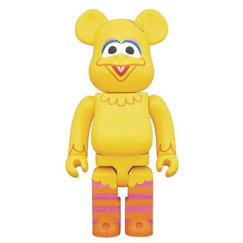 Sesame Street Big Bird 400% Bearbrick Figure