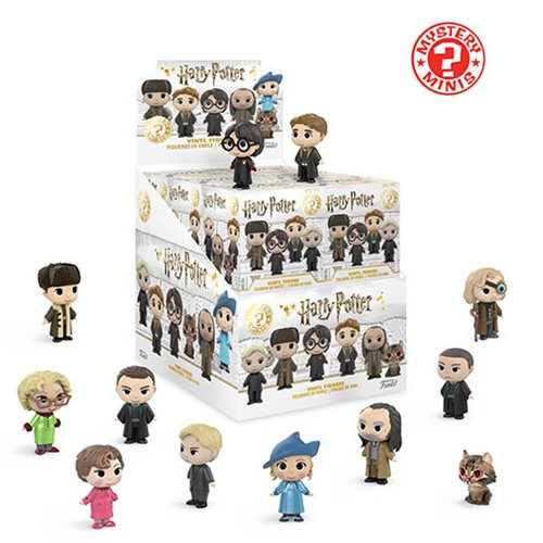 Harry Potter Mystery Mini Series 3 Display Case