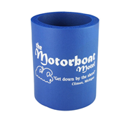 Motorboat Motel Blue Can Hugger
