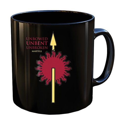 Game of Thrones House Martell Mug