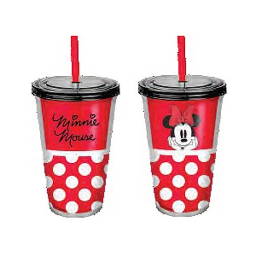 Disney Minnie Mouse 18 oz. Acrylic Travel Cup