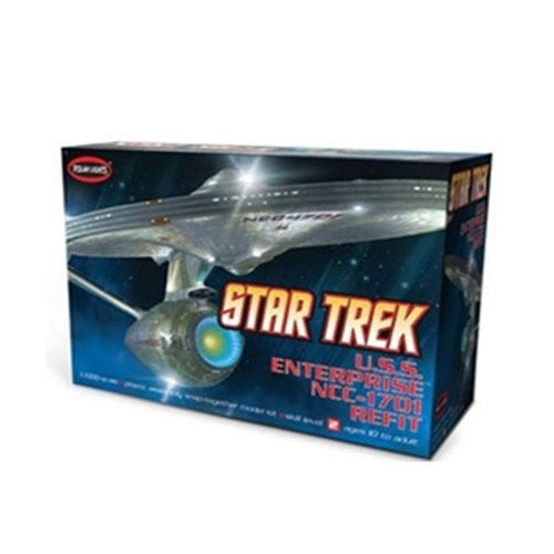 Star Trek USS Enterprise NCC-1701-A Refit 1:1000 Scale Model Kit