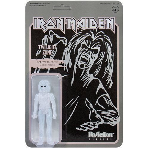 Iron Maiden Twilight Zone Spectral Eddie 3 3/4-Inch ReAction Figure