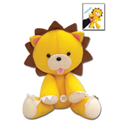Bleach Kon 9 1/2-Inch Squeaky Plush