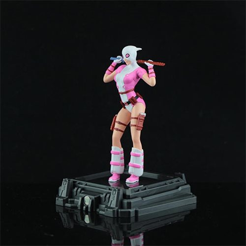 Marvel Gwenpool Super Hero Illuminate Gallery Statue