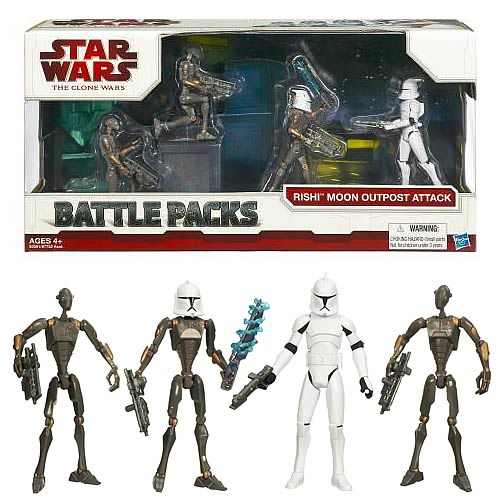 Star Wars Clone Wars Rishi Moon Outpost Attack Battle Pack