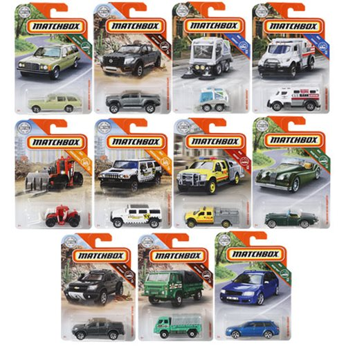 Matchbox Car Collection 2019 Mix 7 Case