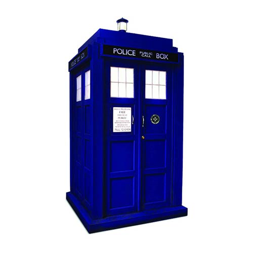 Doctor Who 11th Doctor TARDIS 1:6 Scale Diorama
