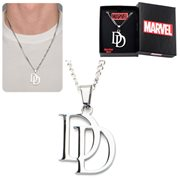 Daredevil Pendant with Chain Stainless Steel Necklace