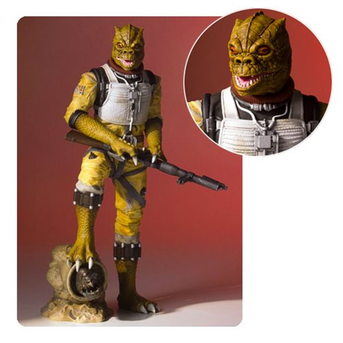 Star Wars Bossk Collectors Gallery Statue