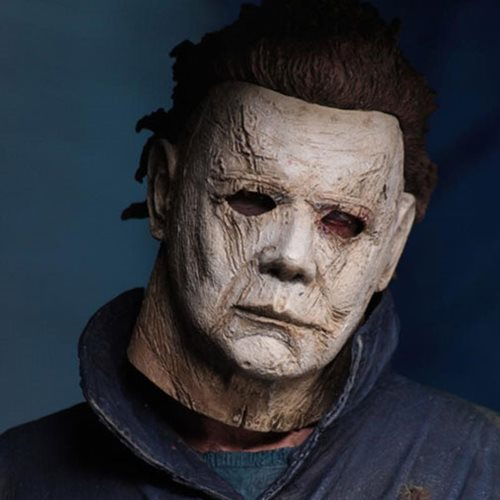 Halloween 2018 Michael Myers Face.Halloween 2018 Ultimate Michael Myers 7 Inch Scale Action Figure Not Mint