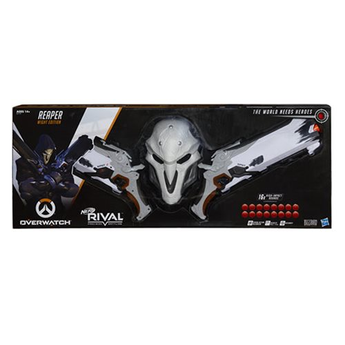 Overwatch Nerf Rival Reaper Blaster Collector Pack, Not Mint