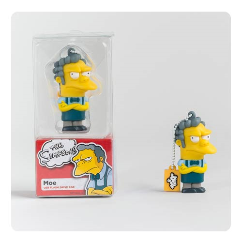 The Simpsons Moe 8 GB USB Flash Drive