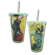 Fullmetal Alchemist Brotherhood Springtime Group Tumbler with Lid