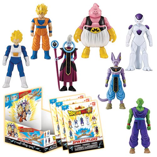 Dragon Ball Super Spin Battlers Blind Pack Case