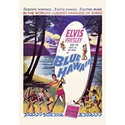 Elvis Blue Hawaii Tin Sign