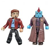 GOTG Vol. 2 Star-Lord and Yondu Minimates, Not Mint