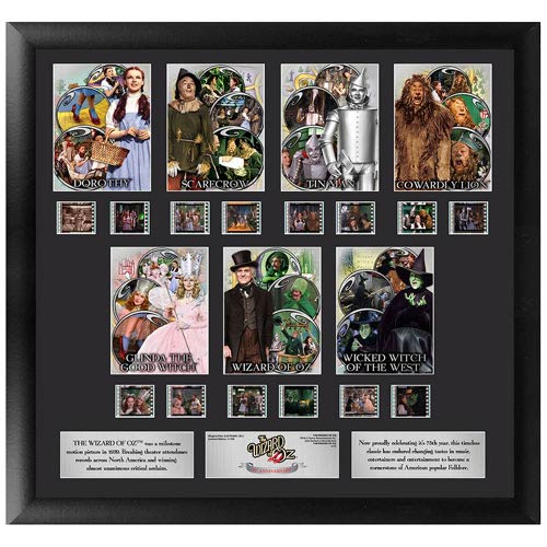 Wizard of Oz 75th Anniversary Series 1 Character Montage Film Cell