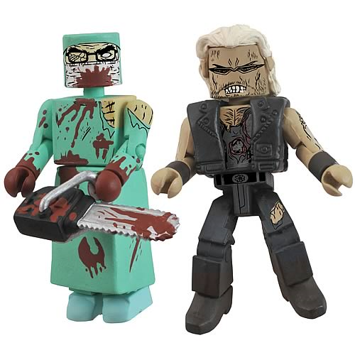 Zombie NYCC 2011 Minimates Exclusive 2-Pack