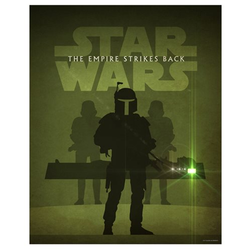 Star Wars: Episode V - The Empire Strikes Back by Jason Christman Lithograph Art Print