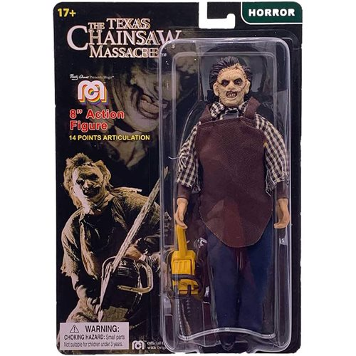 Texas Chainsaw Massacre Leatherface 8-Inch Action Figure