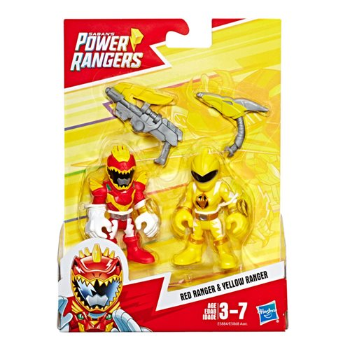 Power Rangers Playskool Heroes Action Figures Wave 2 Set
