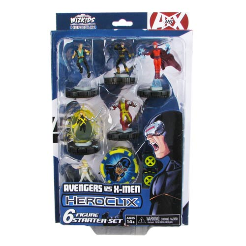 Avengers vs. X-Men Marvel HeroClix X-Men Starter Pack