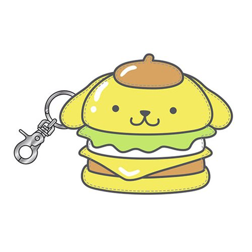 Hello Sanrio Pompompurin Burger Coin Bag