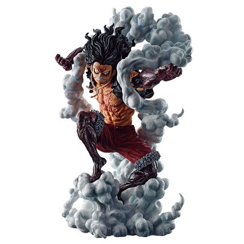 One Piece Luffy Gear 4 Snakeman Battle Memories Ichiban Statue