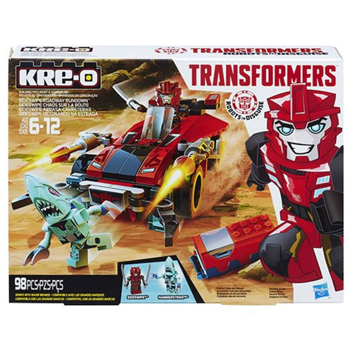 Transformers Kre-o Autobot Capture Wave 1 Set