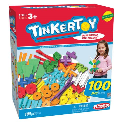 K'NEX Tinkertoy 100-Piece Essentials Value Set