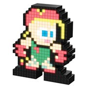 Pixel Pals Street Fighter II Cammy Collectible Lighted Figure