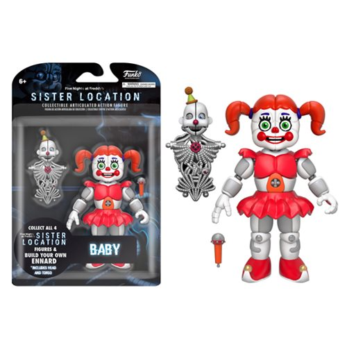 Five Nights at Freddy's Sister Location Baby 5-Inch Action Figure