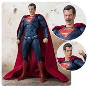 Justice League Superman SH Figuarts Action Figure P-Bandai Tamashii Exclusive