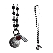 Black Butler Sebastian Charm Necklace