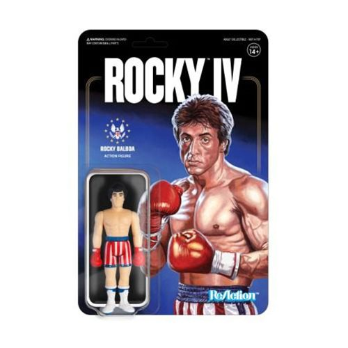 Rocky IV Rocky Balboa (Flag Shorts) ReAction Figure