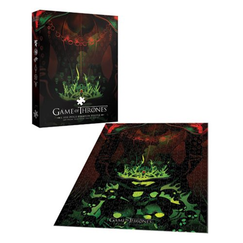 Game of Thrones Long May She Reign 1000-Piece Premium Puzzle