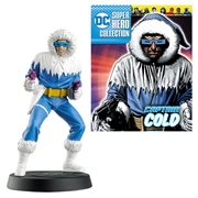 DC Superhero Captain Cold Best Of Figure with Collector Magazine #37