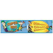Phineas and Ferb Peel and Stick Border