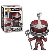 Power Rangers Lord Zedd Pop! Vinyl Figure #666, Not Mint