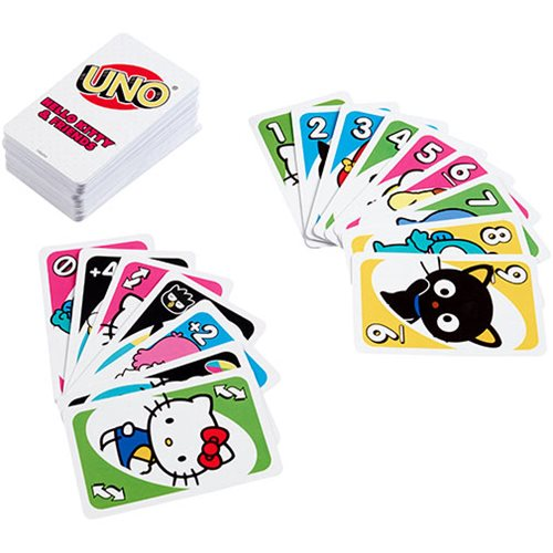 Hello Kitty and Friends Uno Game