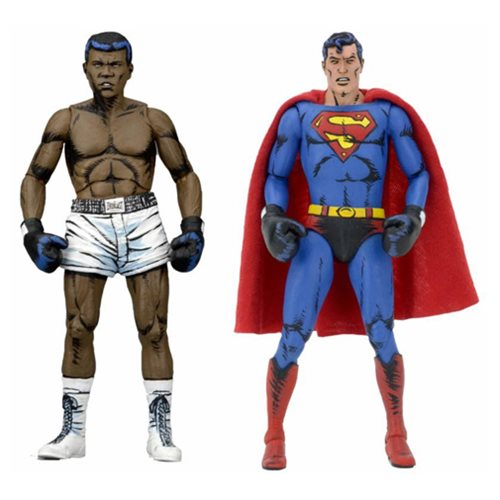 DC Comics Superman vs Muhammad Ali 7-Inch Action Figure 2-Pack