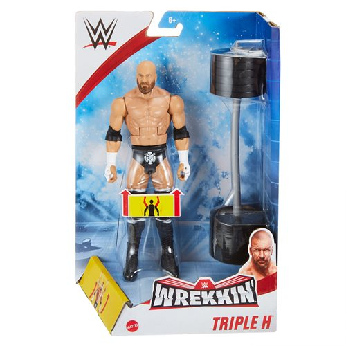WWE Wrekkin Wave 8 Triple H Action Figure