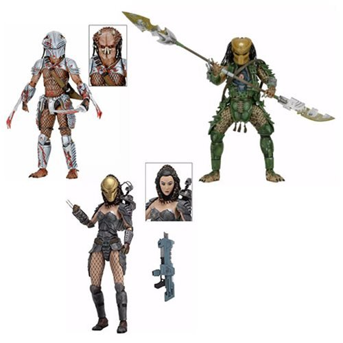 Predator Series 18 Action Figure Set