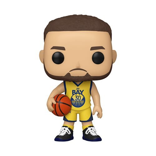 NBA Golden State Warriors Steph Curry (Alternate) Pop! Vinyl Figure