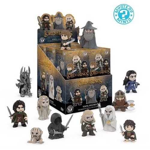 The Lord of the Rings Mystery Minis Random 4-Pack